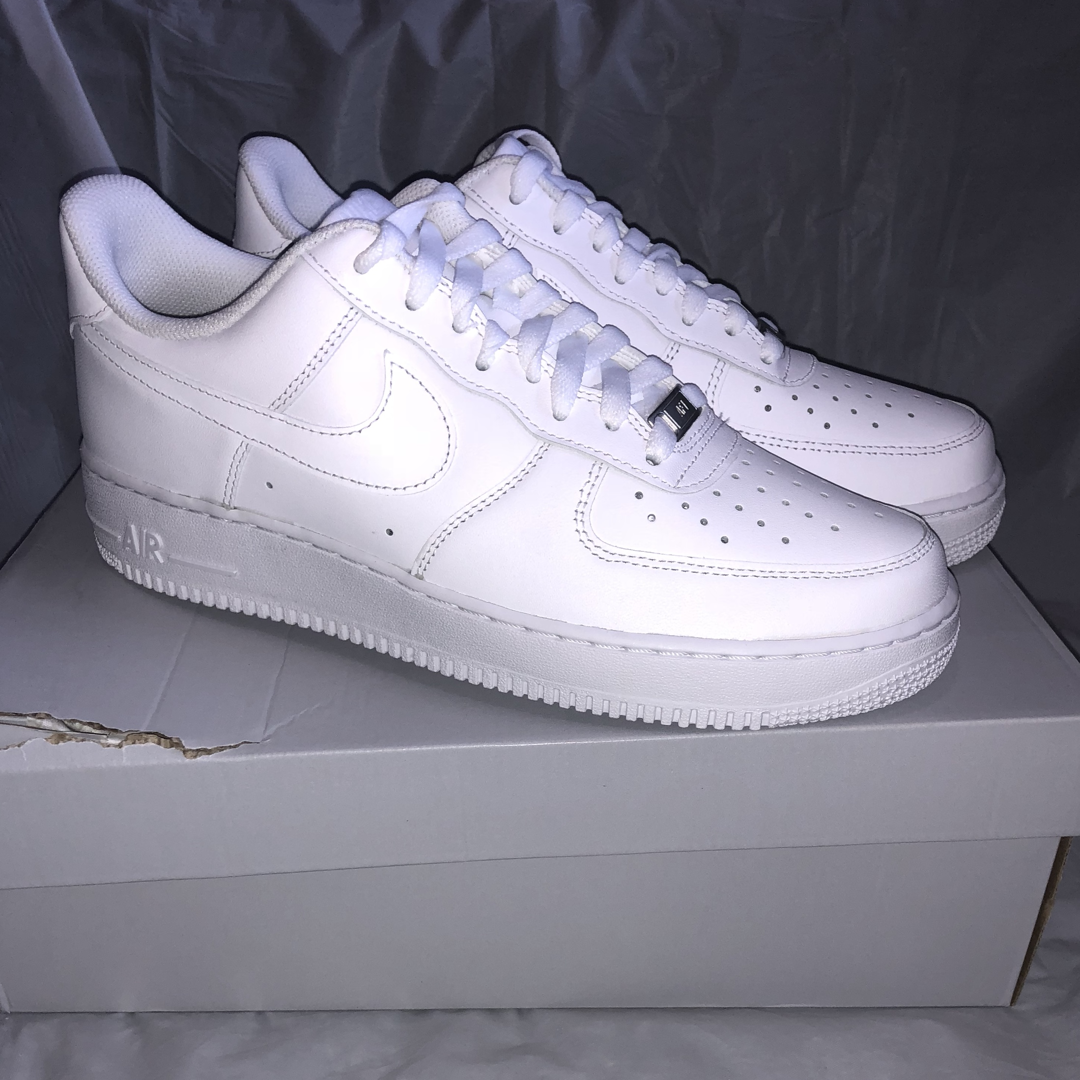 Nike Air Force 1 White, UK Men's Size 8, will send...