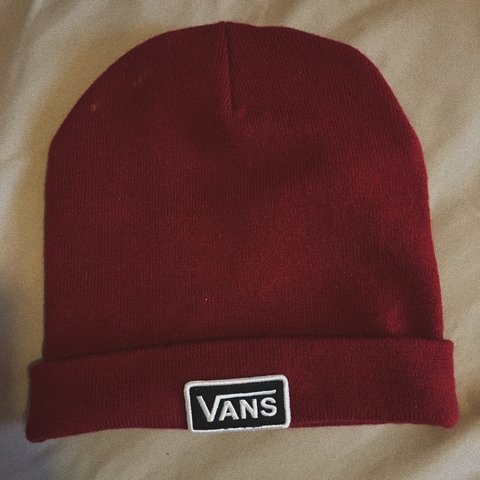 cute little red vans beanie bought from a local skate shop. - Depop e45151261e50