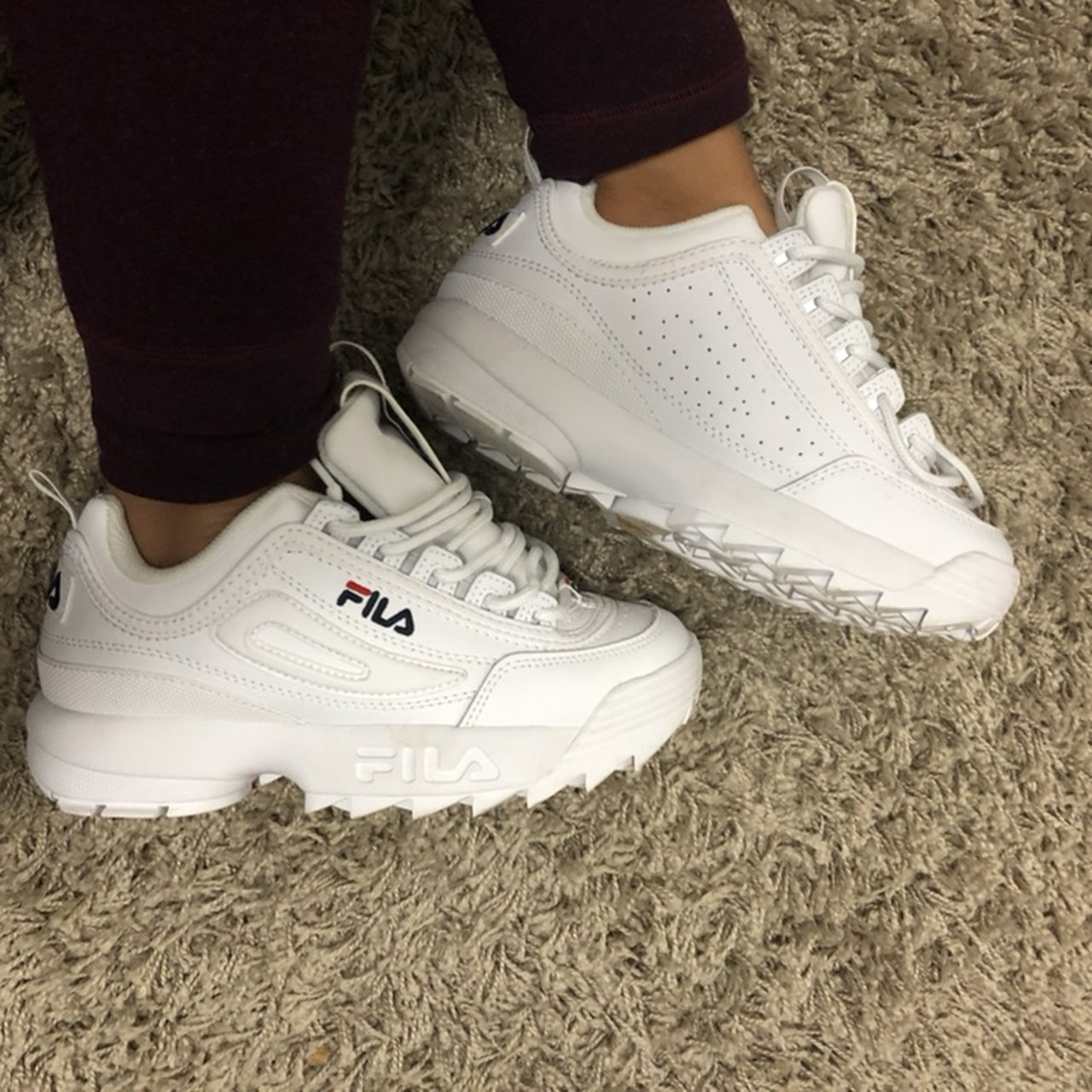 Fila Disruptor II Only worn once bc