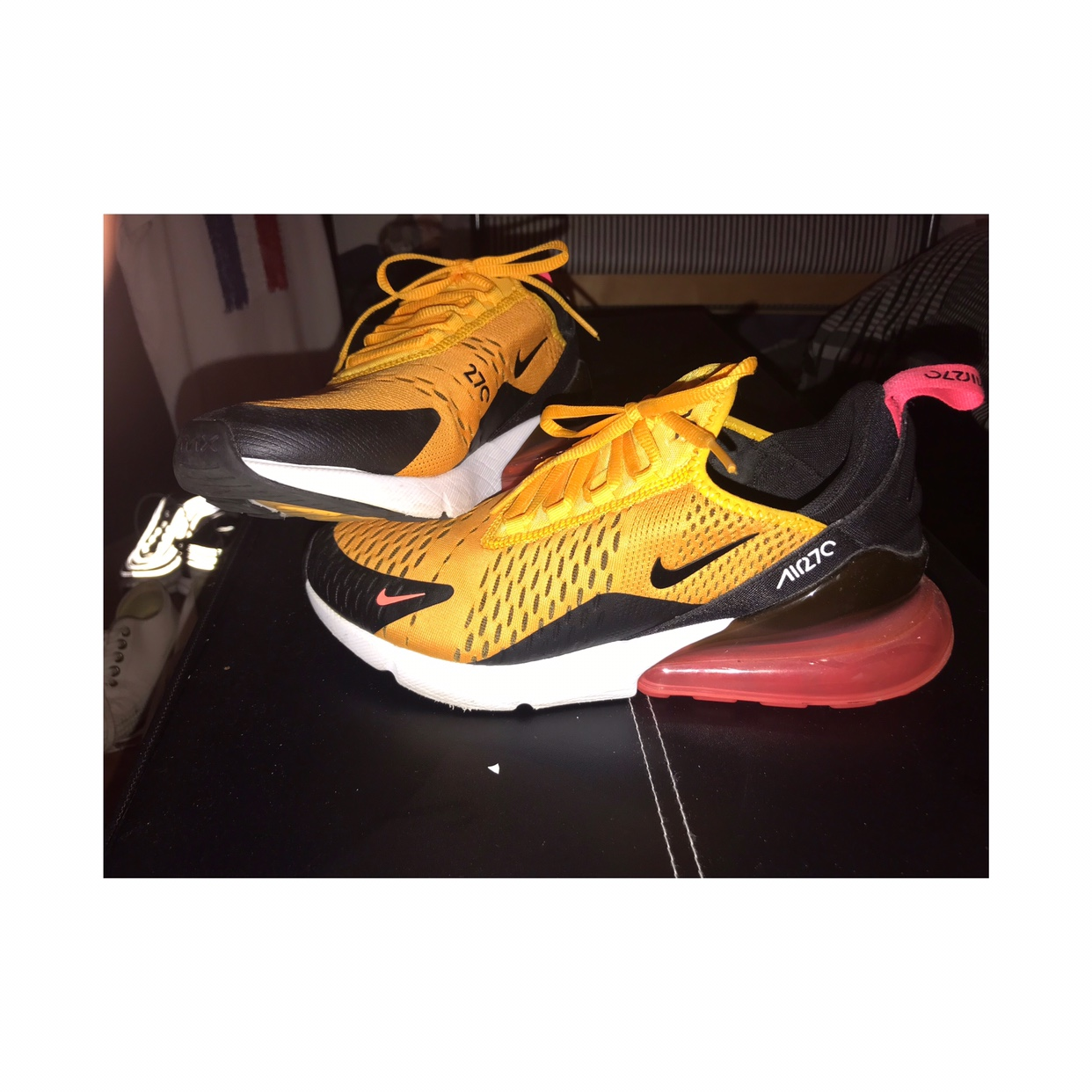 detailed look cd2a4 51661 Selling YELLOW/PINK/BLACK/WHITE NIKE AIR MAX 270s ...