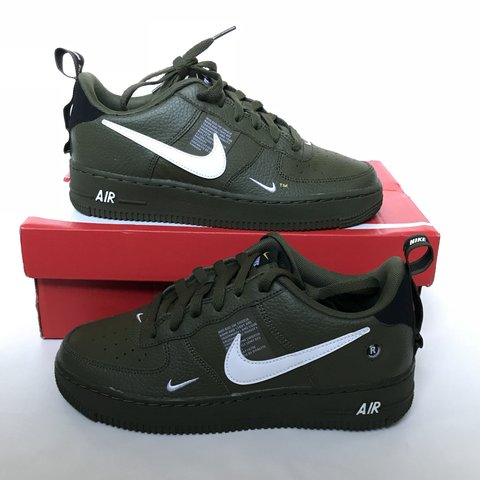 huge discount a473e 65e66  mrlue22. 5 months ago. Leeds, United Kingdom. Nike Air Force 1. Low boot. Army  green