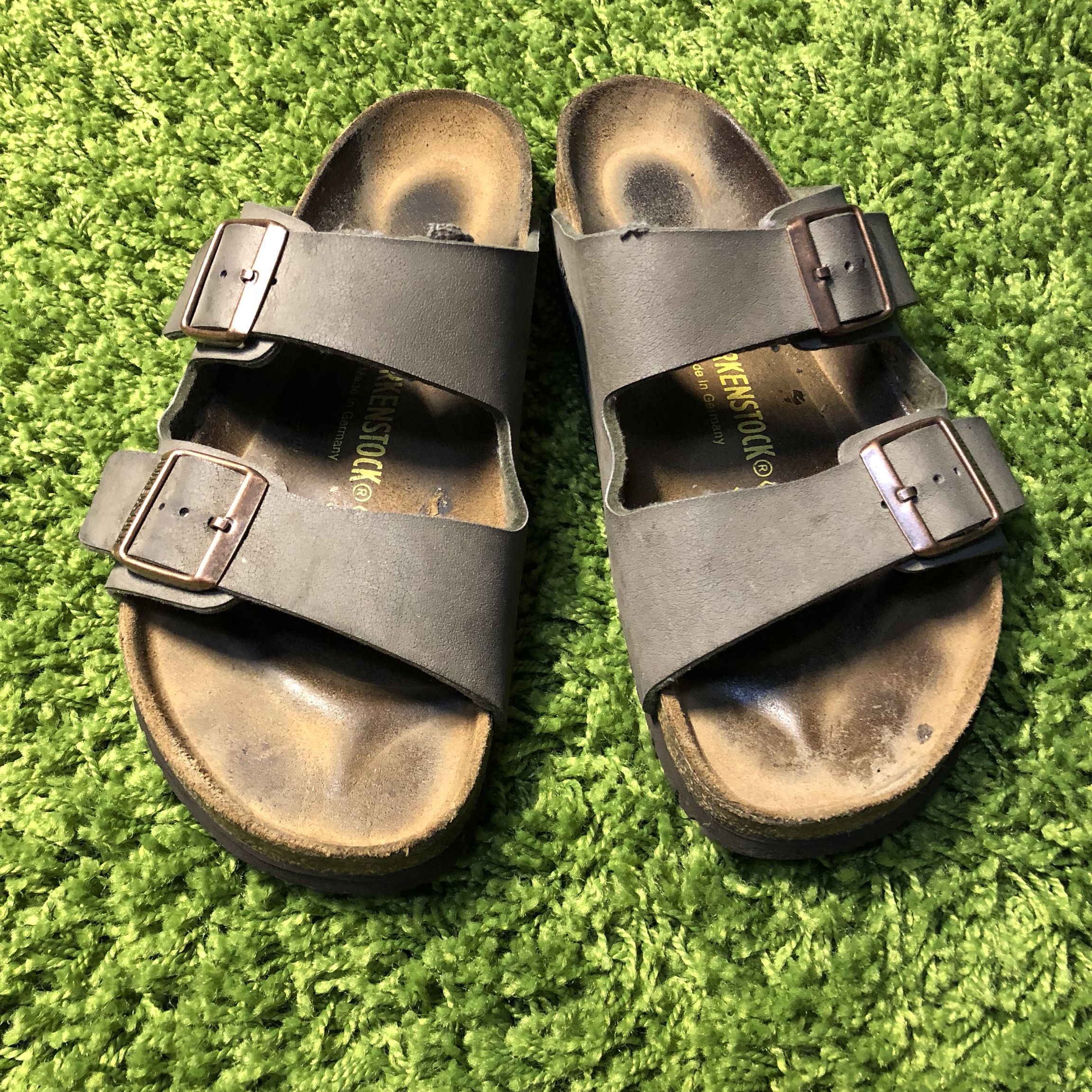 sports shoes 05fa6 1e8f5 BIRKENSTOCK Arizona SIZE 41 265 L10 M8 Men's size 8... - Depop