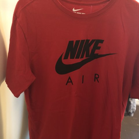 e444ef72ea7d7a Two Nike air shirts Size Large Condition 10 10 Price for any - Depop