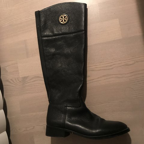 807c9523b Tory Burch riding boots Wore less than 4 times Original - Depop