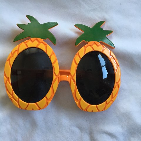 Pineapple Sunglasses These Goofy Glasses Have A Depop