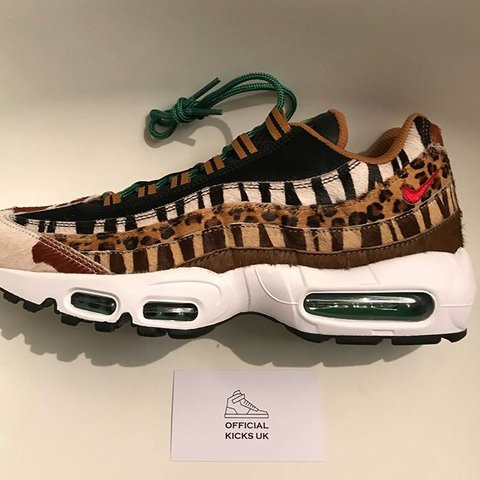 e3a922a53e5b Atmos x Nike Air Max 95 DLX ANIMAL BEAST PACK Brand new be - Depop