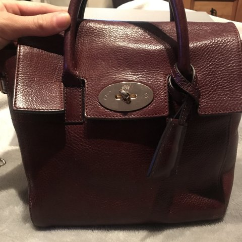 a7fd20f520317a Limited edition Mulberry Cara backpack in oxblood Size box - Depop