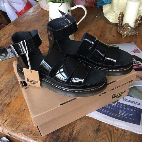 f19f0a93b203 100% Authentic pair of Dr Martens  Clarissa  sandals in EVER - Depop