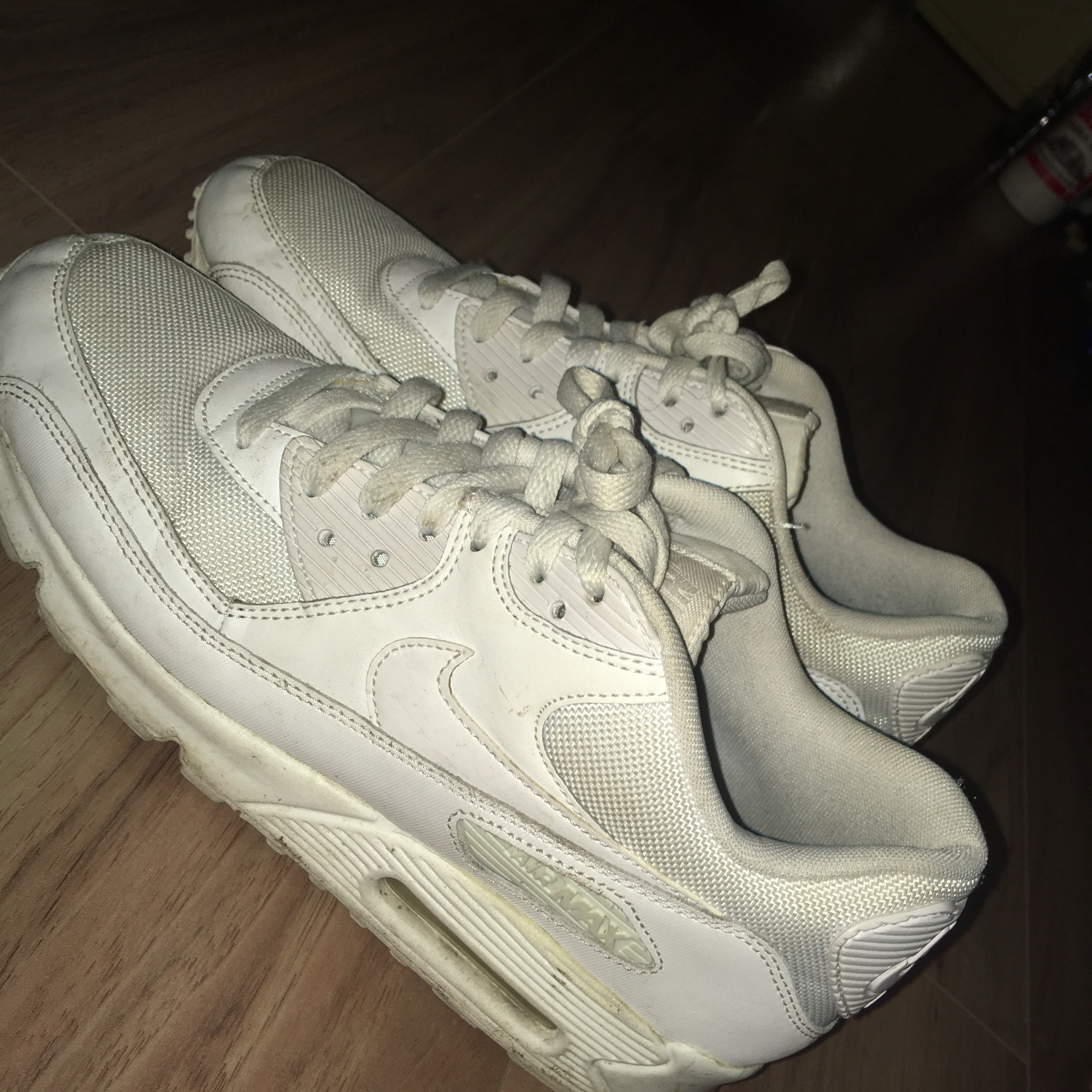 Nike Air max 90 white , allot cleaner in person Depop
