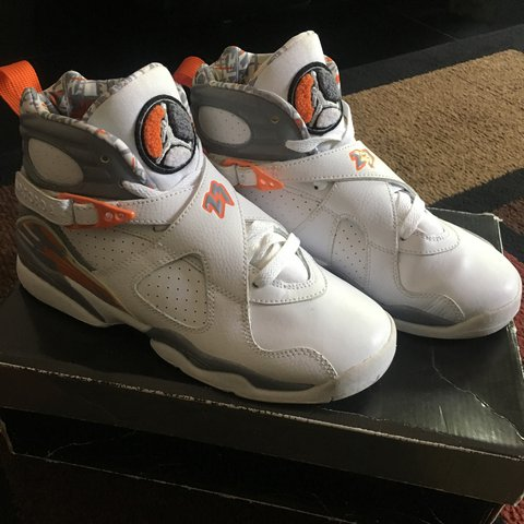 super popular a9191 6d2ba Air Jordan Retro 8 Orange- 0