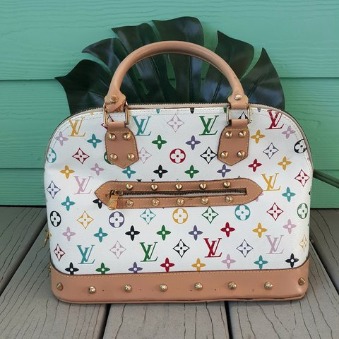 1475a7cab4a2 FREE FAST SHIPPING LOUIS VUITTON Multicolor Alma Faux Fake - Depop
