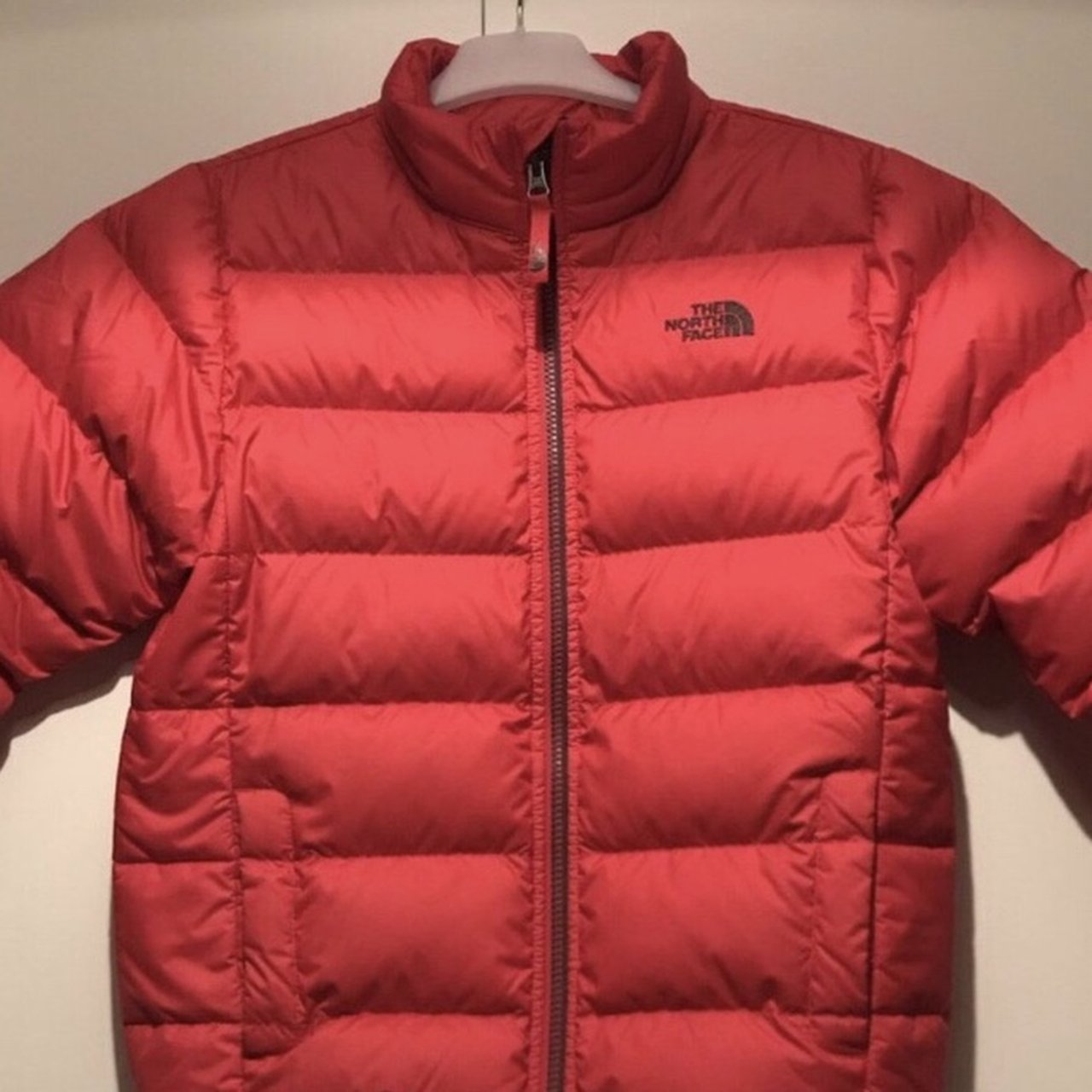 6396947478 Reduced to £70!!! Selling this red THE NORTH FACE puffer has - Depop
