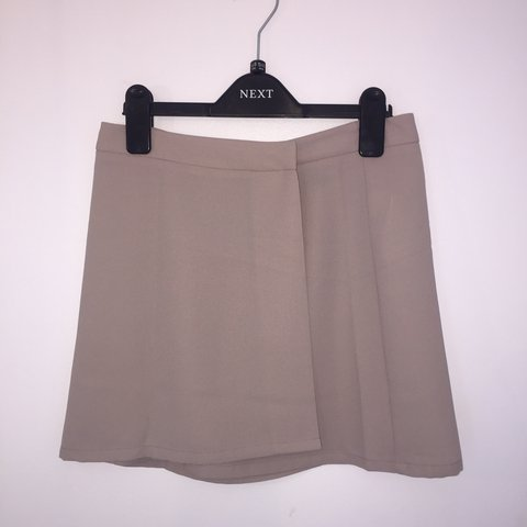 4ee7824dce Nude Forever 21 A line cross over skirt Never worn, Size new - Depop
