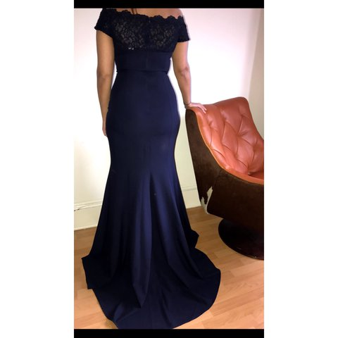 1344a76446d5 Beautiful occasion/prom dress. Length: front - 176cm Size: - Depop