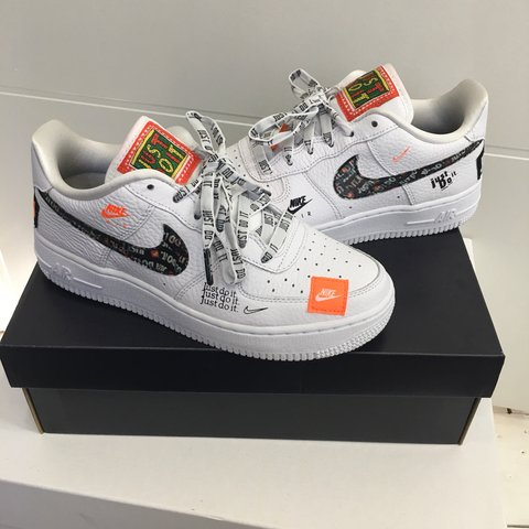 564ebdf249 NIKE AIR FORCE 1 LOW JDI PRM // UK SIZE 5 (junior girls size - Depop