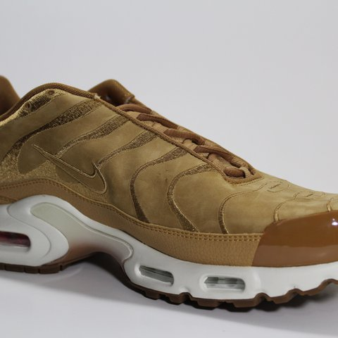 6acfc168a0 @immaculatedeals. last year. Kennesaw, United States. NIKE AIR MAX PLUS TN  EF WHEAT / TAN DEAD STOCK NEW IN BOX