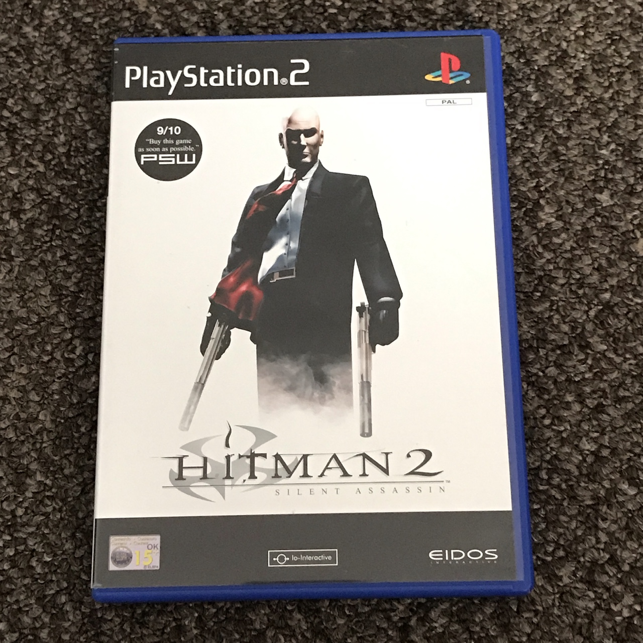 Hitman 2 Silent Assassin For Playstation 2 Ps2 Depop