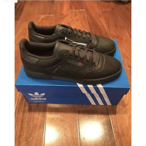 fa9feff301a Adidas YEEZY Powerphase Calabasas - Core Black SOLD OUT 9 - - Depop