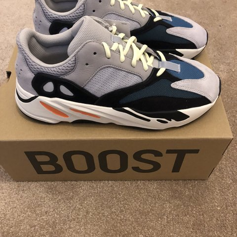 2d084bc845469 Adidas Yeezy Boost 700   Wave Runner UK 10 Purchased from N - Depop