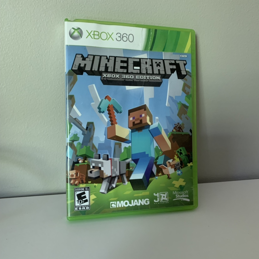 minecraft xbox 360 edition case isn't in perfect    - Depop
