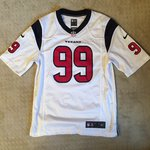 124d6c00915 Houston Texans Nike Jersey 🔥 #99 JJ Watt 🔥 Size XL Youth/ - Depop