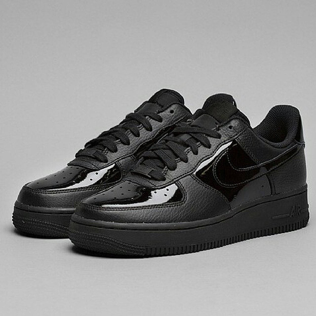NIKE AIR FORCE 1'07 PATENT] black and