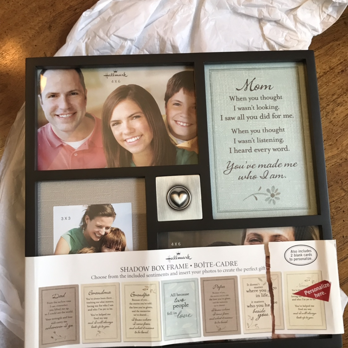 This NWT- Hallmark Shadow Box Frame is the perfect    - Depop