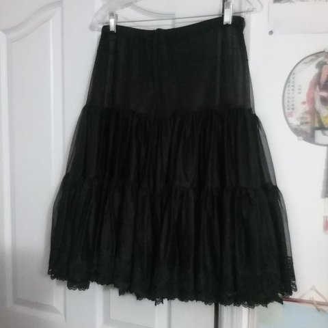 d5f4395c31eb Gorgeous handmade 50s petticoat by the now defunct brand of - Depop