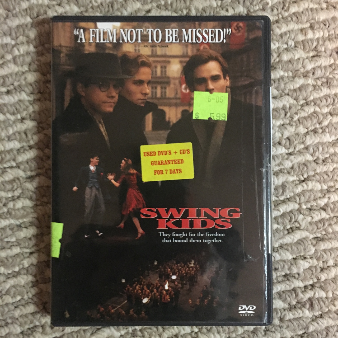 Swing Kids Dvd Bought Used Plays Perfectly Depop