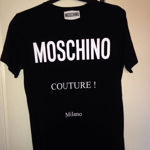 012c221465be52 @owalker1904. 2 months ago. Solihull, United Kingdom. Men's black moschino  tshirt size small ...