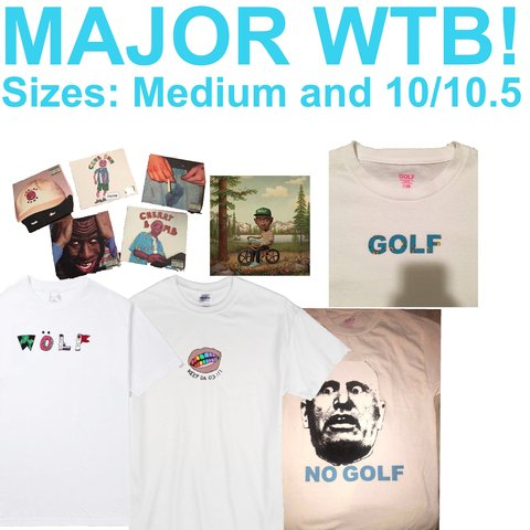 cdd458ea79fe I m looking for all of these Golf Wang and Odd Future pieces - Depop