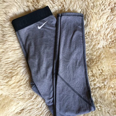 94053629498091 @wenddeey. 6 months ago. Palmdale, United States. Nike pro high waist  leggings. Women's size Small pants in classic black/grey