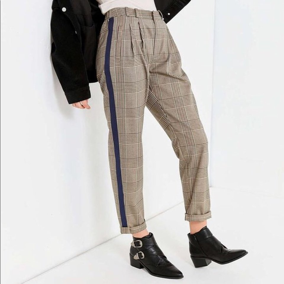 Plaid pants urban outfitters