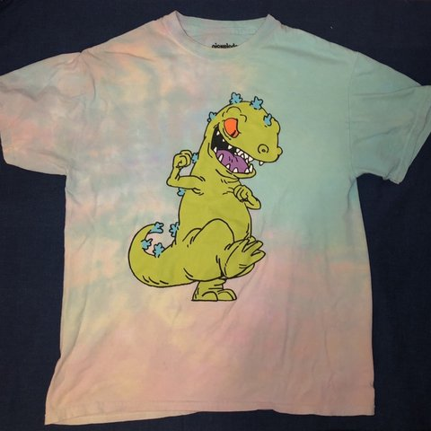8e776e5cc @alexorli. 3 months ago. Arlington, United States. Super fun tie dye Rugrats  tee from Forever 21. Size medium.