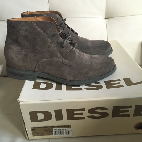 Men\'s Diesel boots.. Brand new in box. 100% genuine! Size UK - Depop
