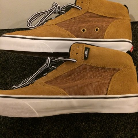 Supreme x VANS x MC Mike Carroll Camel Tan Mash Reflective a - Depop