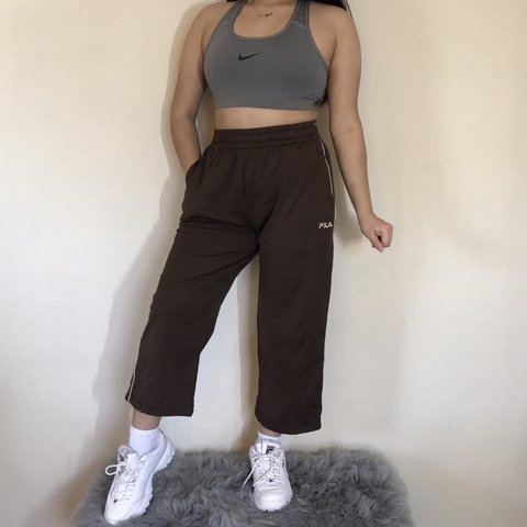 b7d7f1e9ee5f @jocys_shop. 3 months ago. Antioch, United States. Total y2k!!! Fila Brown  cropped semi flare pants. Have never ...