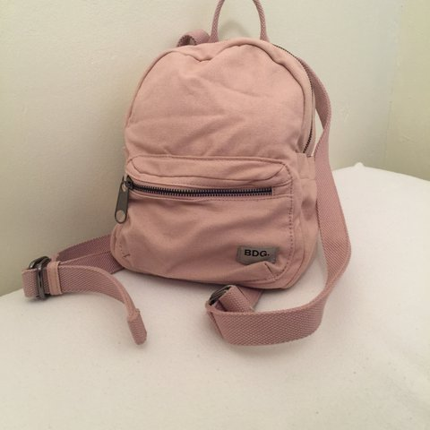 0401036b854a URBAN OUTFITTERS BDG Classic Canvas Mini Backpack 🎒💗. 👛 A - Depop