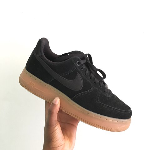 promo code 7cc77 6373c  faithabe. 7 months ago. Uxbridge, United Kingdom. Nike Air Force 1 07 SE  black suede gum sole ...