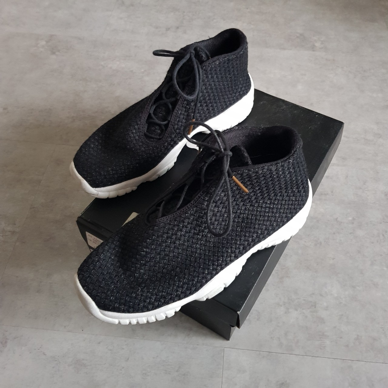 1e84bf2f29 NIKE AIR JORDAN FUTURE GS GB - SIZE 6 - GREAT CONDITION - Depop