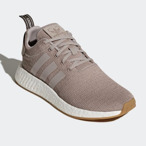 810dea388fe55 Adidas NMD R2 in Vapour Grey Size 8 in US W Size 7 in US (No - Depop