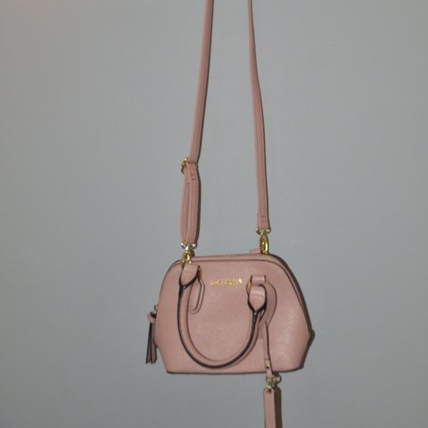 451b3b6d58e Steve madden hand purse/crossover bag. In pink nude color, - Depop
