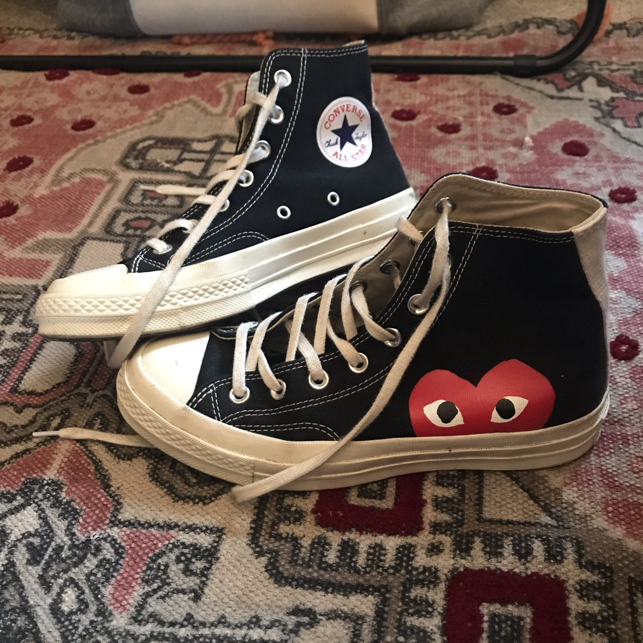 comme des garcons converse bought from