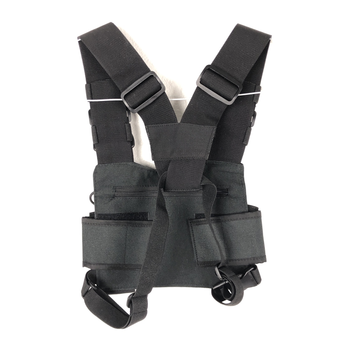 Bondage Tactical Vest Gun Holster Chest Rig Black    - Depop