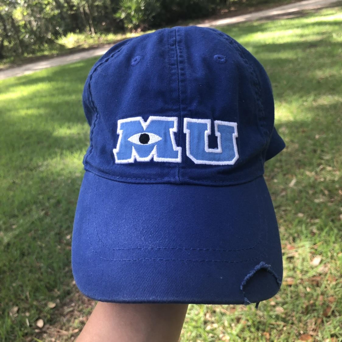 Monsters University Disney Hat Monsters Inc In Depop