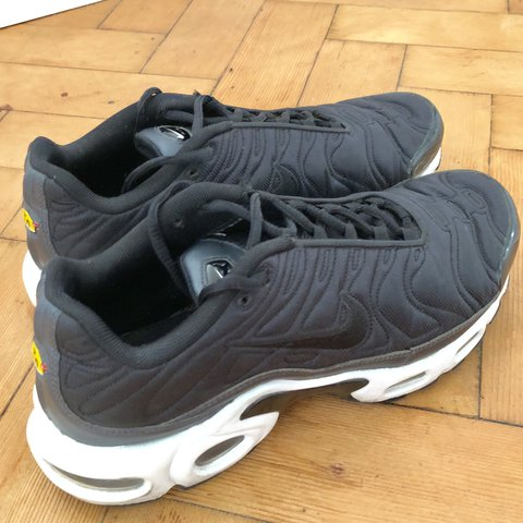 0b9a6e6fbd Black Satin limited edition unisex TNs!! A very cool and to - Depop