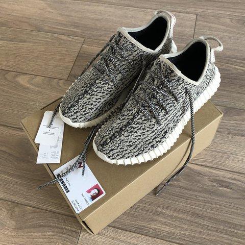7106d640a58d0 Adidas Yeezy Boost Turtle Dove Size UK 7.5 100% genuine