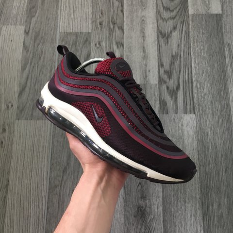 """876c885546 Nike Airmax 97 """"deep red/ noble red"""" Good condition - 8/10 - Depop"""