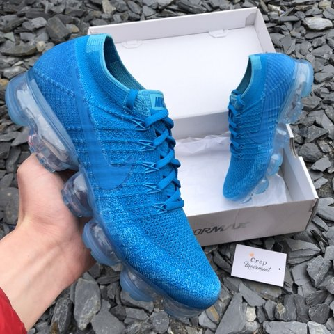 a86a8c6626 @crep_movement. last month. Preston, United Kingdom. Nike AirVaporMax  Flyknit 1.0 - blue orbit