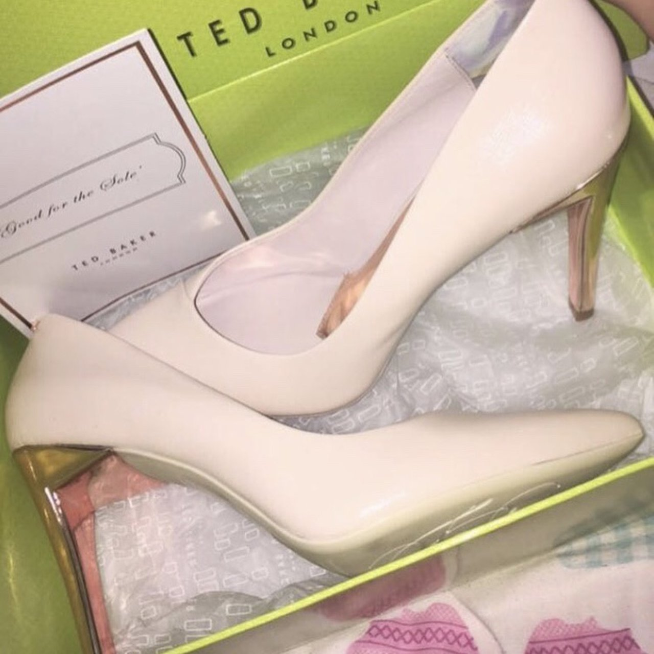 STUNNING TED BAKER PINK / NUDE COURT